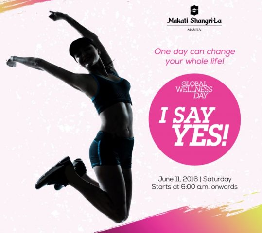 Embrace Health and Wellness With Makati Shangri-La Global Welness Day