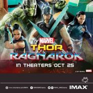 Thor and Hulk tour SM for Marvel Studios' Thor: Ragnarok