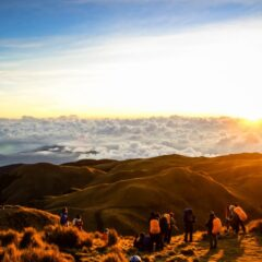 Aileen in Mt. Pulag